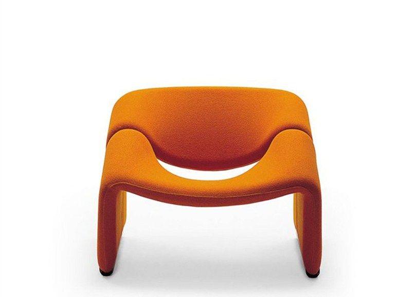 Poltrona imbottita GROOVY by Artifort design Pierre Paulin