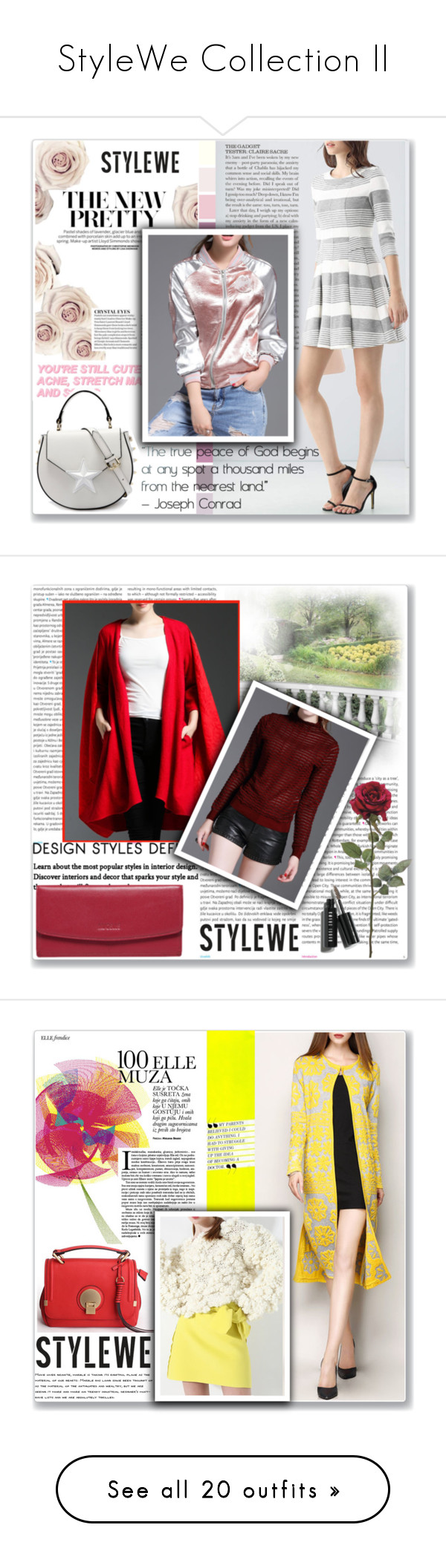 """""""StyleWe Collection II"""" by mery66 ❤ liked on Polyvore featuring stylewe, Oris, Martha Stewart, Niche Modern, Kate Spade and 7 For All Mankind"""
