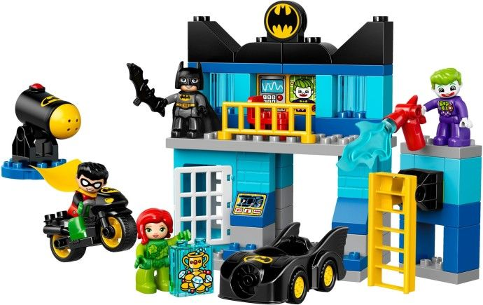 View LEGO instructions for Batcave Challenge set number 10842 to ...