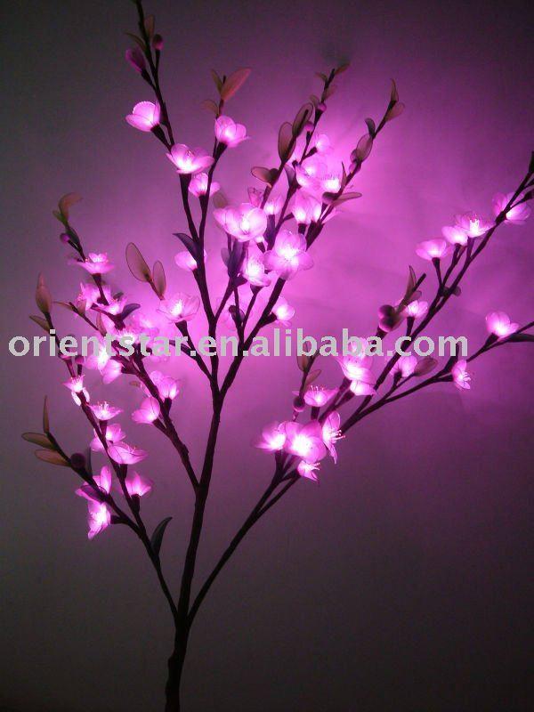 socking net flowers with light Flower Lamp