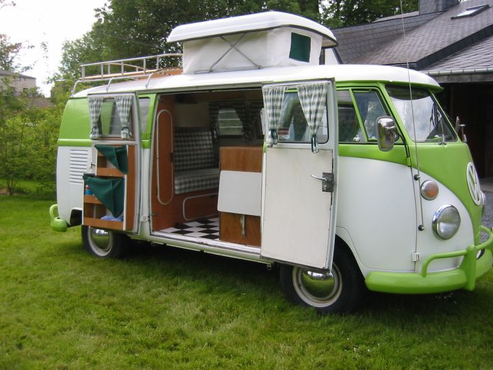 volkswagen camper oldtimer vintage camping vw bus. Black Bedroom Furniture Sets. Home Design Ideas