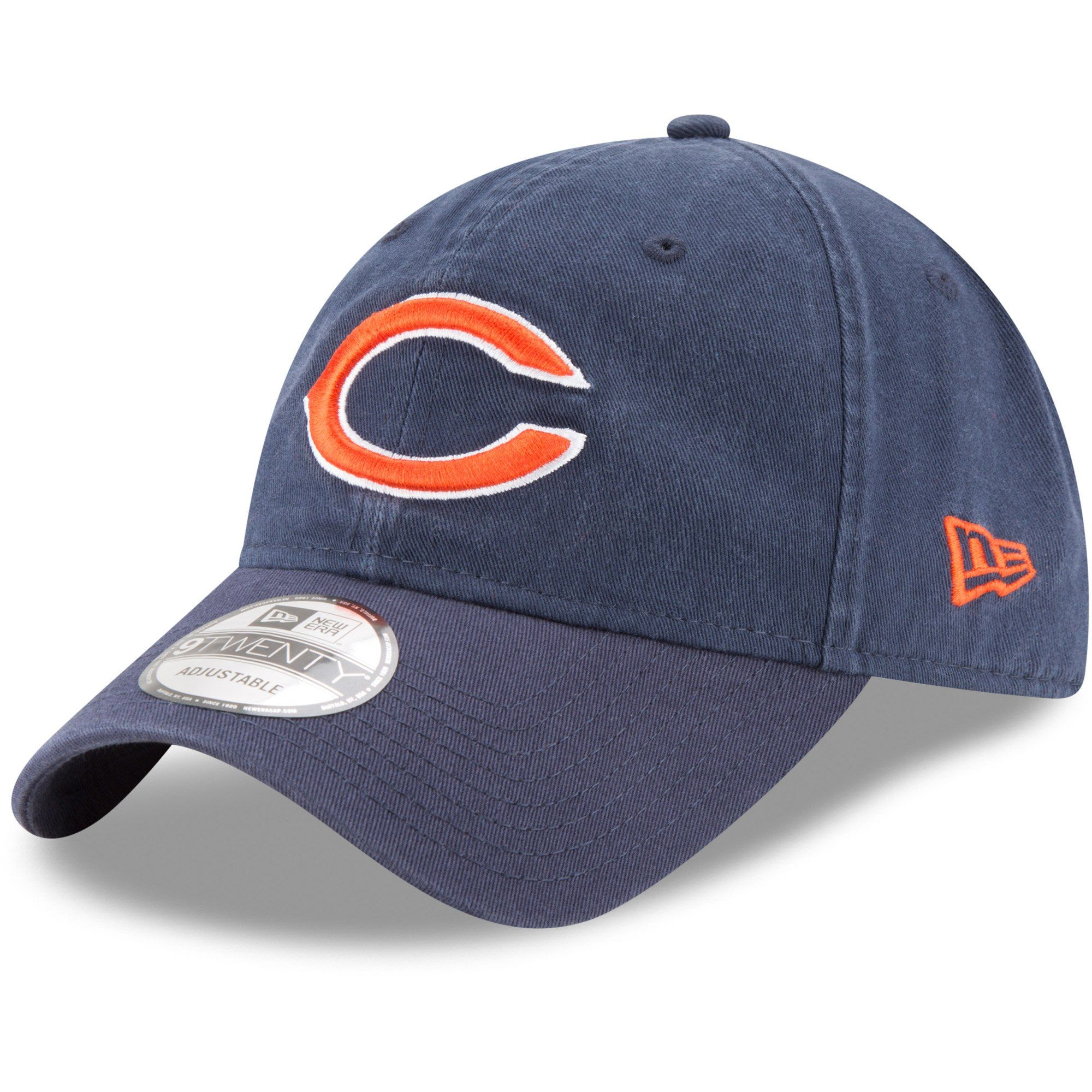 c5e802861d8282 Youth Chicago Bears New Era Navy Primary Core Classic 9TWENTY Adjustable Hat,  Your Price: $17.99