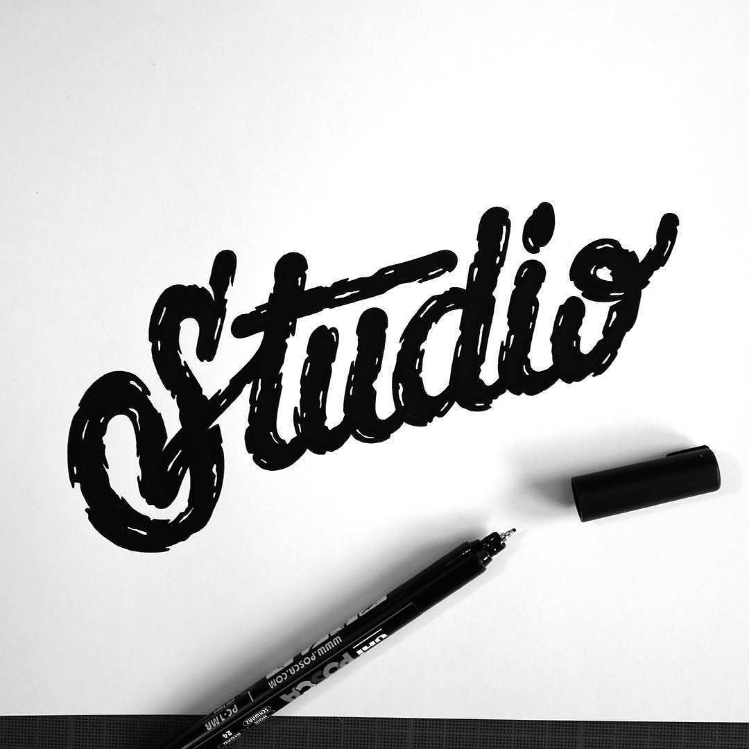 Love the texture in this work by @tarwane - #typegang - free fonts at typegang.com | typegang.com #typegang #typography