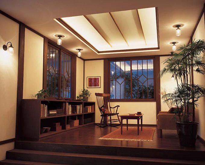 大正浪漫風レトロなシーリングライト 和室 house plans