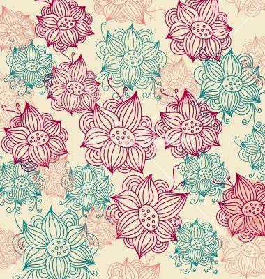 Vintage Flower Backgrounds