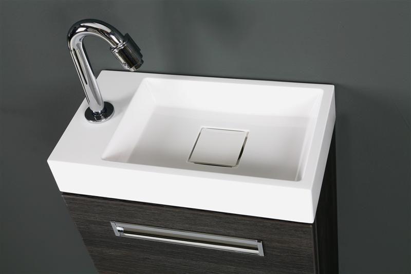 Thebalux toiletmeubel global detail wastafel op onderkast eiken