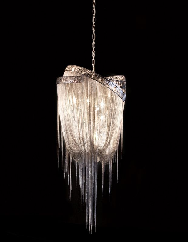 hudson furniture lighting. Mother Chandeliers By Hudson Furniture: Design Baylar Atelier Gloss Nickel Plated Laser Cut Rings And Chains. Furniture Lighting