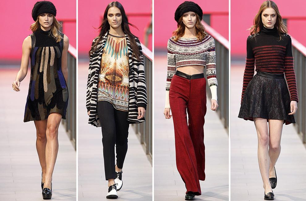 Custo cierra la tercera jornada de desfiles de 080 Barcelona Fashion · Moda 2015Otoño  Invierno 2015Tendencia ... 9eeb892e5176