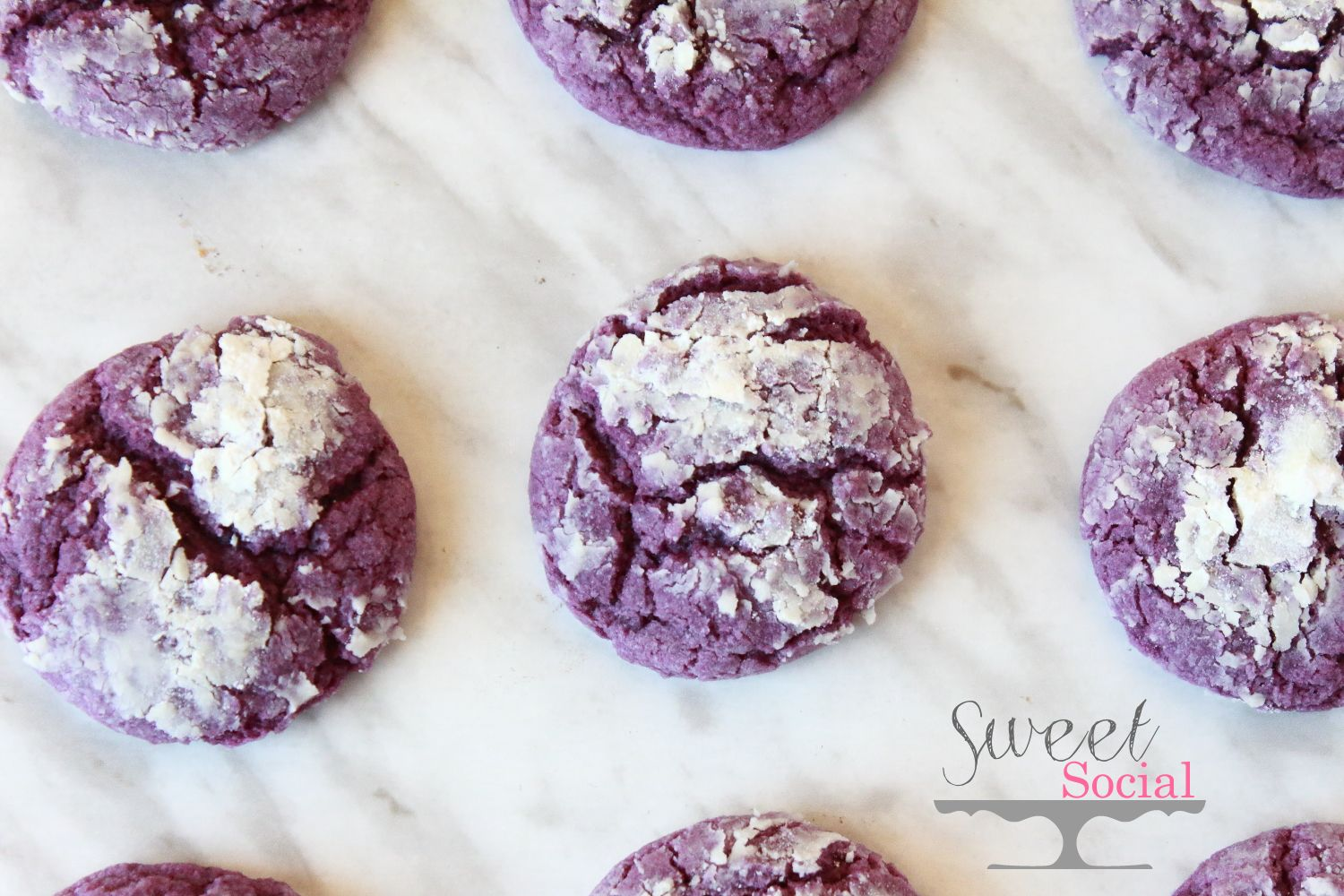 Ube Crinkle Cookies Recipe Food For The Soul Pinterest