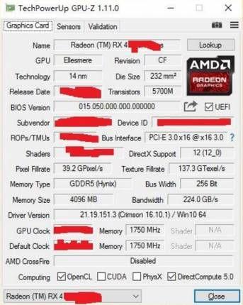 Une nouvelle puce Polaris 10 dans la Radeon RX 470D et d'autres à venir pour co... #informatique