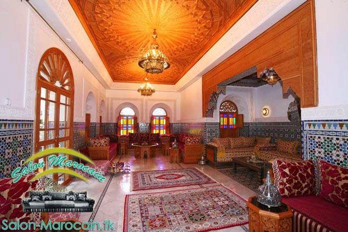 Un salon marocain réservé au riadvillapalais en général au grande surface il sera compatible avec vos espaces de la réceptions des invitéesconvention