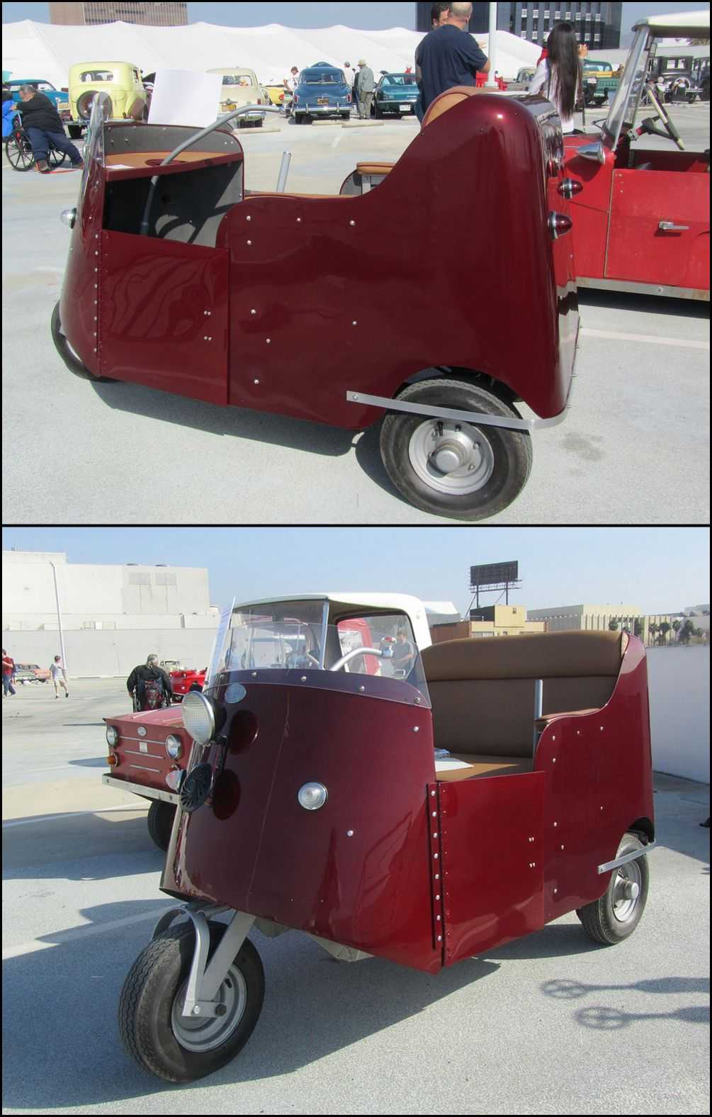 The Autoette Was A Microcar Created And Manufactured From 1948 To 1970 S By Royce Seevers Owner Of Electric Car Company Inc Long Beach