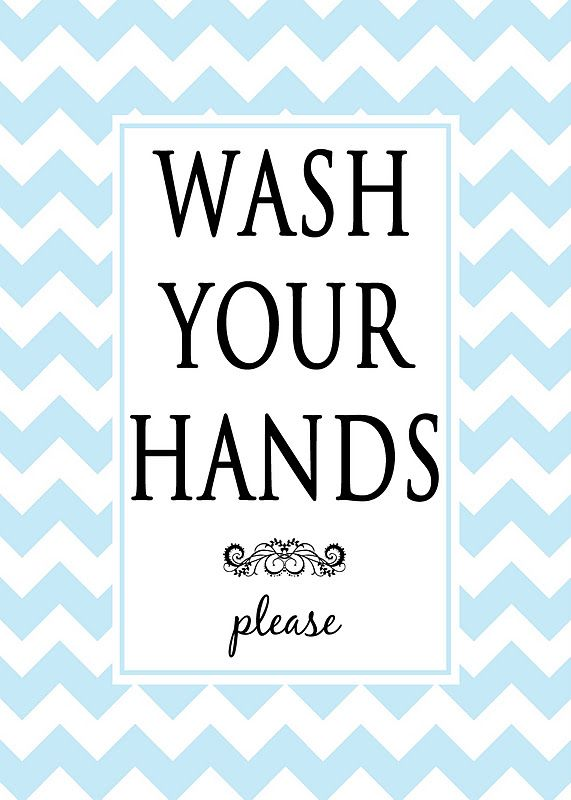 photo regarding Free Wash Your Hands Signs Printable named Clean your fingers remember to - printable Free of charge Printable and