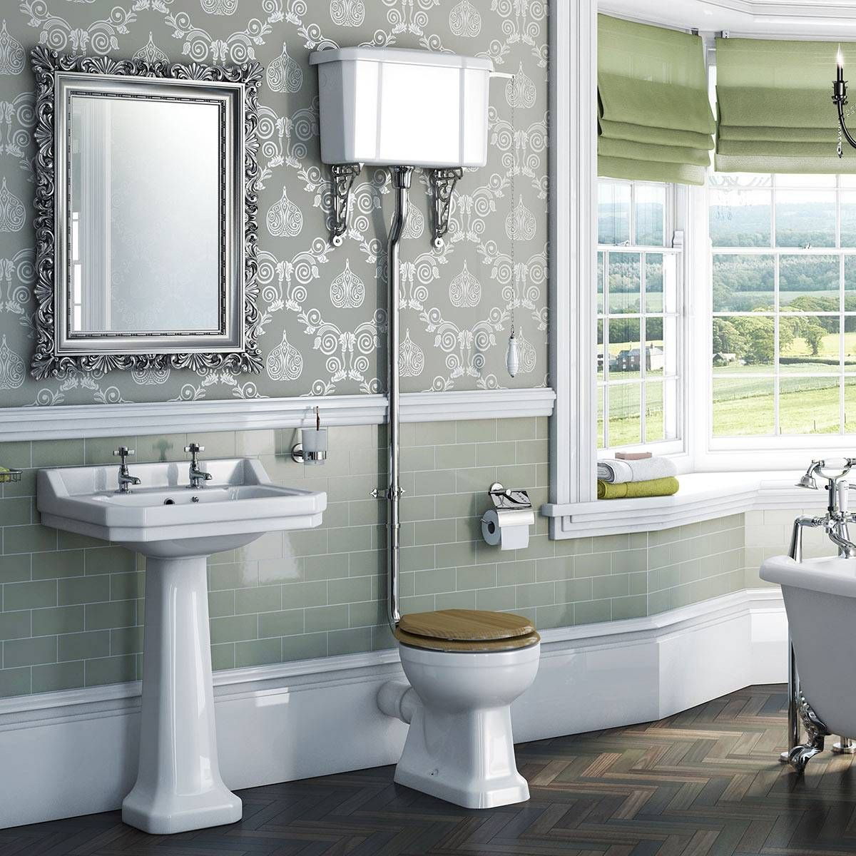 Would you install a traditional water closet like this? | DIY ...