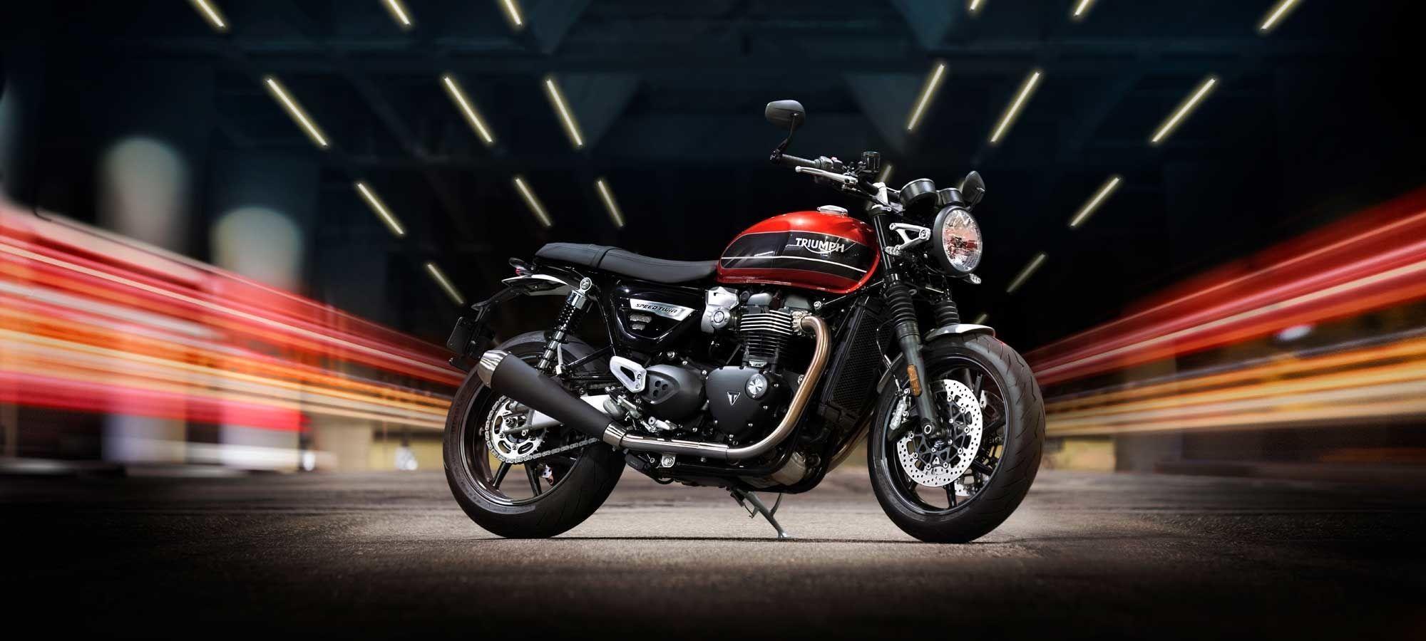 2019 Triumph Speed Twin First Look Motorcyclist Motos