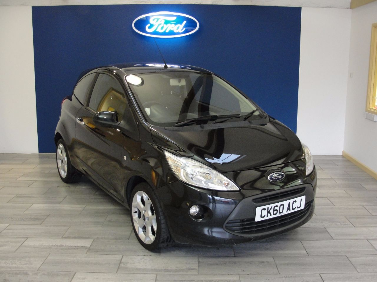 Ford Ka 1 2 Titanium 3dr Hatchback Petrol Black City Cars Used