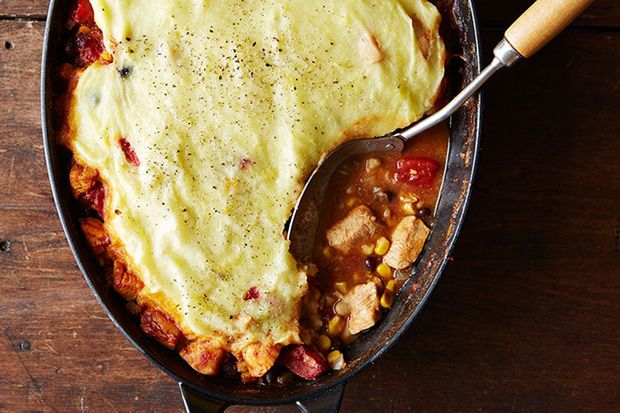 The Cookbook Recipes That Rule Them All Chicken Tamale Pie Tamale Pie Mexican Chicken Casserole