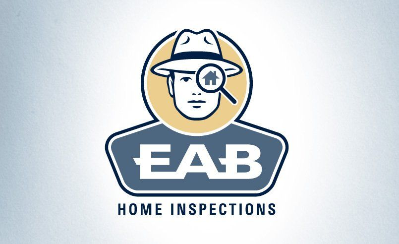 We love the simplicity of this retro-looking logo design for a home inspection company.