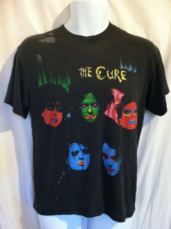 d23465eef64 Vintage 1986 CURE Tshirt  Original In Between Days Album Promo T ...