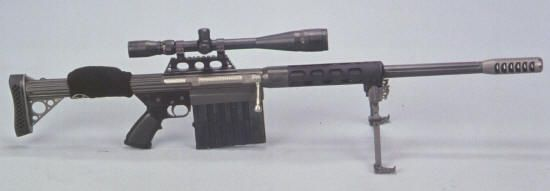 Light weight 50 BMG Rifle Anzio Ironworks specializes in high