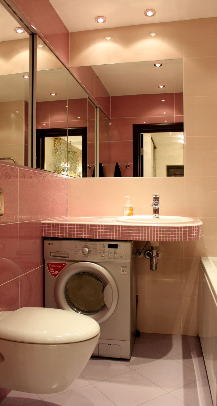 Washing Machine And Wash Basin Worktop Can Be Combined Here It Is