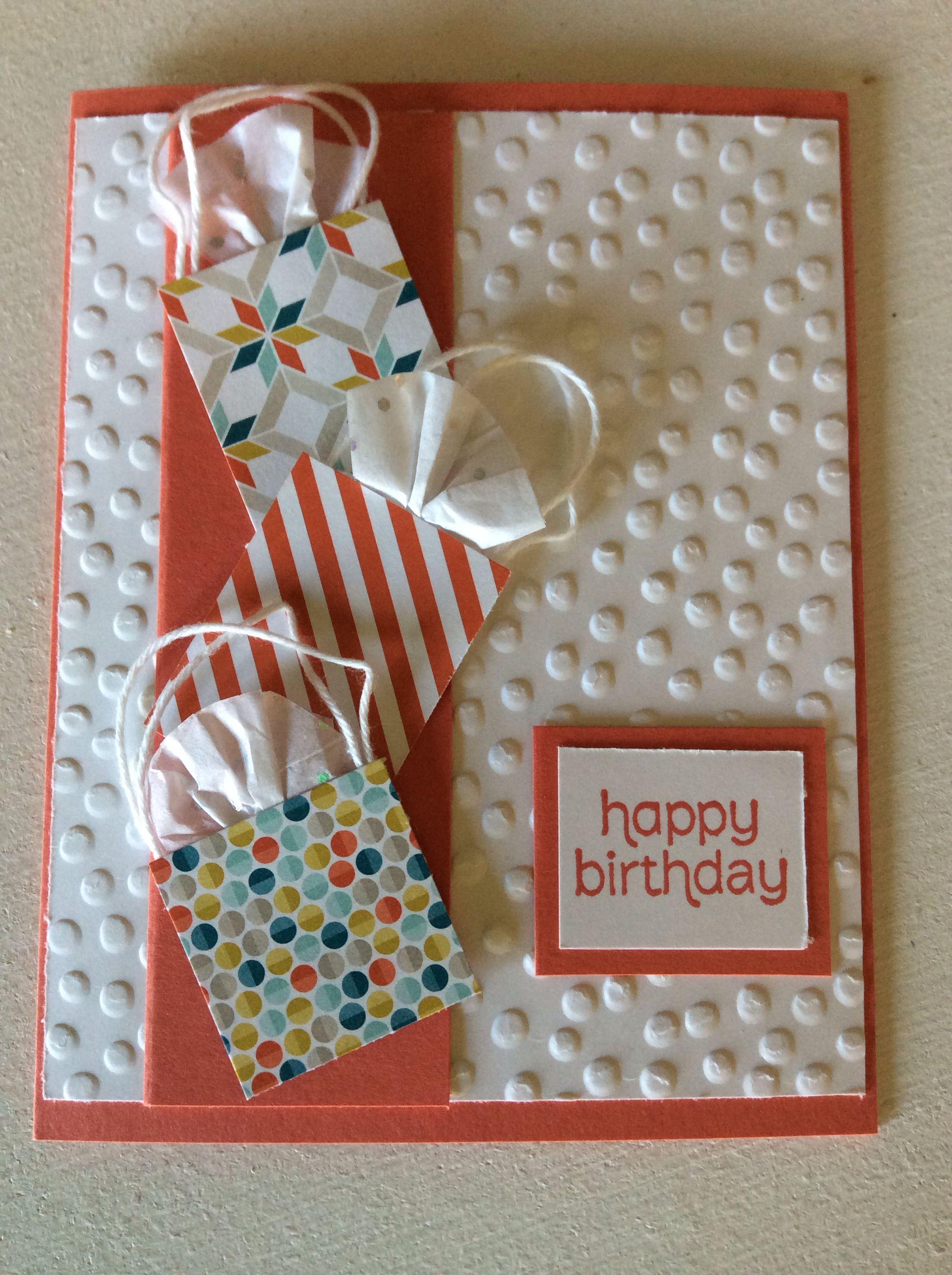 Stampin up birthday card
