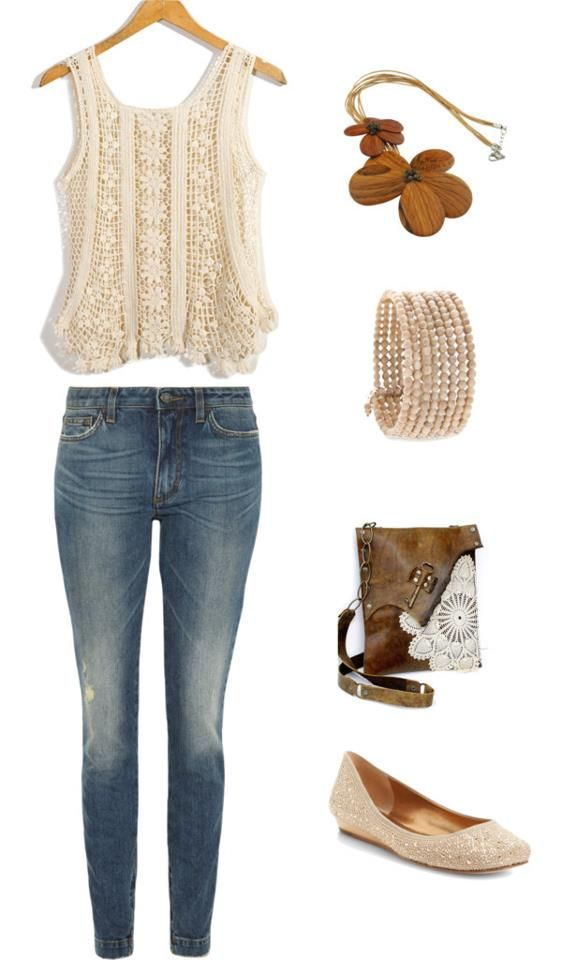boho chic outfit :)