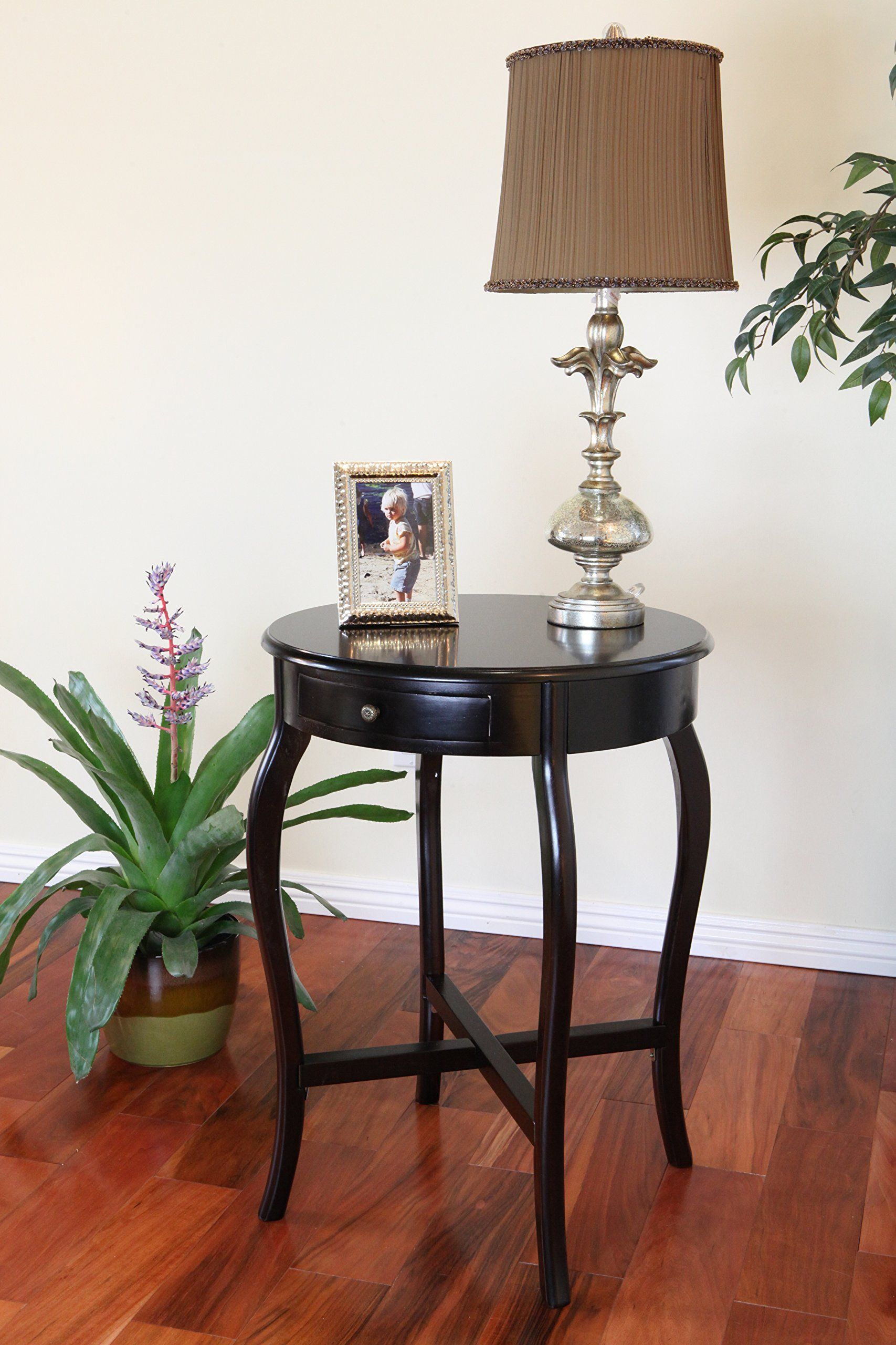 Frenchi home furnishing round end table espresso check out the image by visiting the link this is an affiliate link and i receive a commission for the