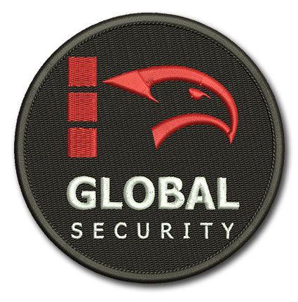 Naszywka Agencja Ochrony Global Security