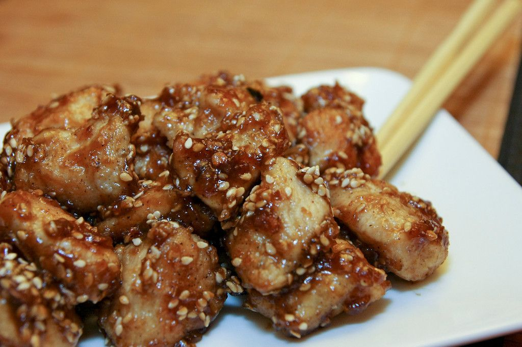 SESAME CHICKEN @Elaine Tricoli's Dish Recipes #maindish #recipe #chicken #sesamechicken