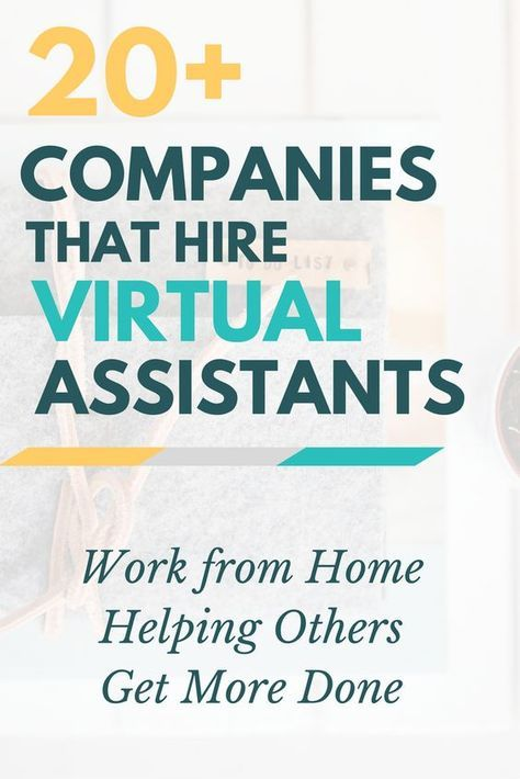 Virtual Assistant Jobs 20 Ways To Help Others Tackle To Do Lists
