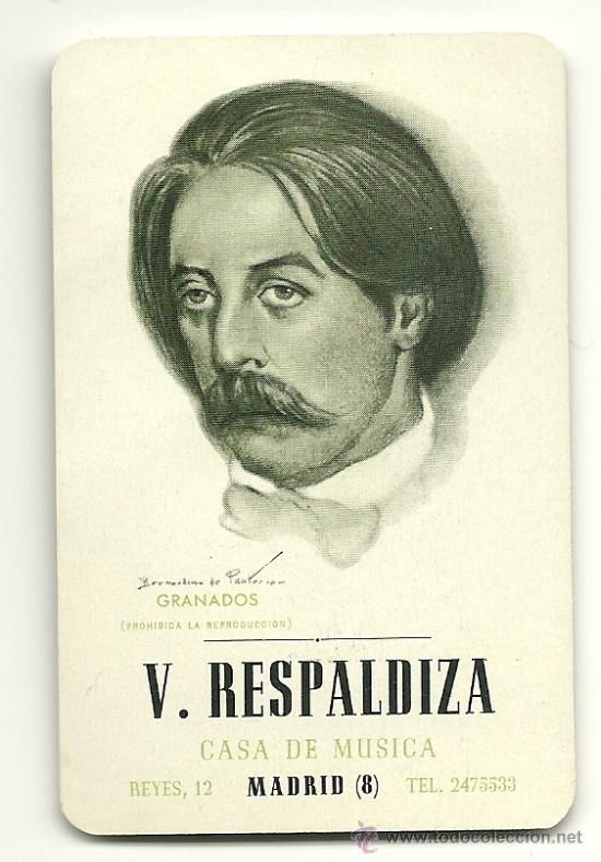 Calendario Del Ano 1969.Calendario Fournier De La Casa De Musica Vicente Respaldiza