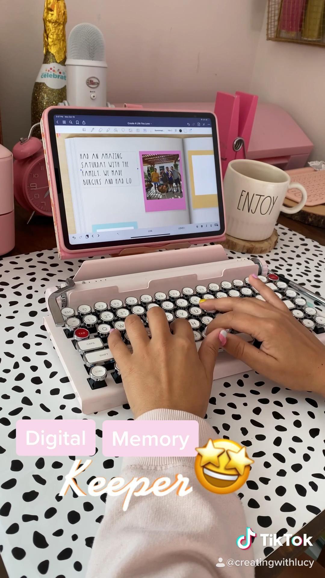 Digital Memory Keeper | Goodnotes 5 | digital plan