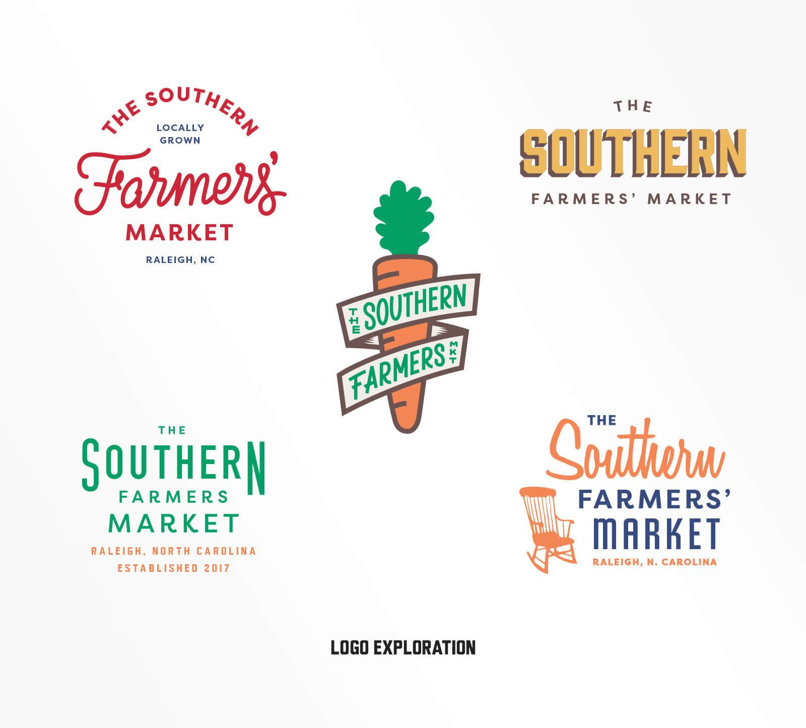 The Southern Farmers Market — by | Farm logo design ...