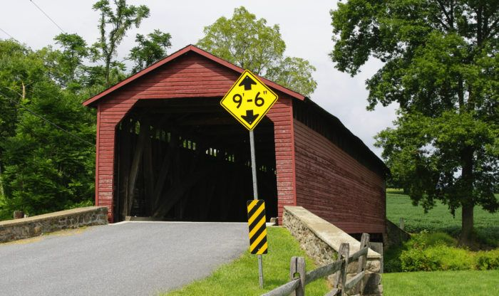Photo of The Oldest Covered Bridge In Maryland Has Been Around Since 1843