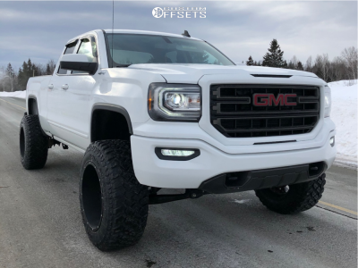 2018 Gmc Sierra 1500 20x12 51mm Vision Rocker In 2020 Gmc