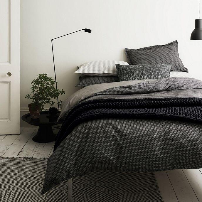Murmur Dark Grey Dansu Duvet Cover Debenhams Bed Linens Luxury Bed Linen Design Luxurious Bedrooms