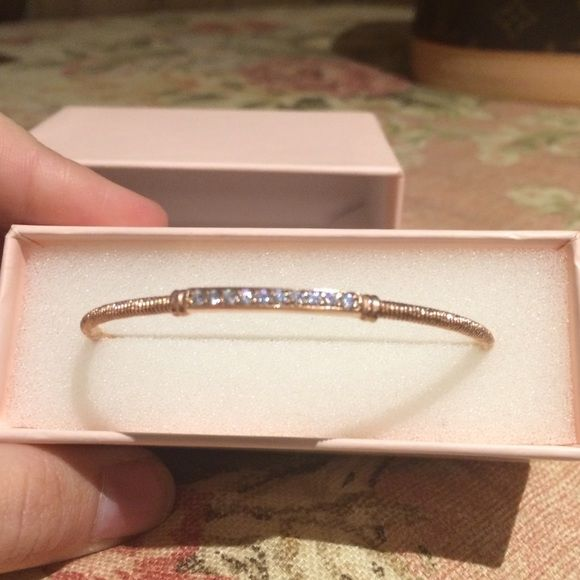 Mia Fiore RoseGold Plated Sterling Silver Bracelet Silver