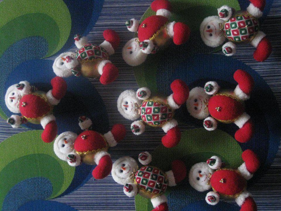 Muñecos para árbol de navidad - Red Latinoamericana de Diseño ...