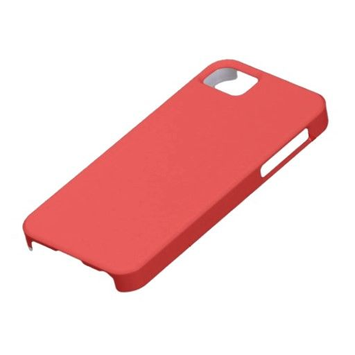 Poppy Red iPhone 5 Cases