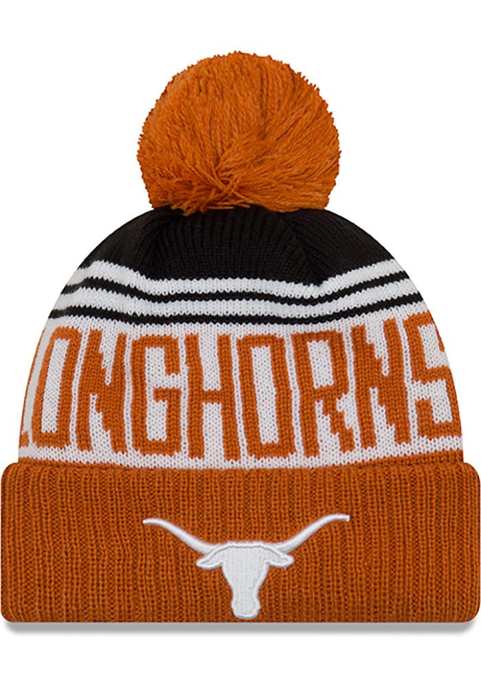 47e316c98 Texas Longhorns Burnt Orange Team Pride Pom Youth Knit Hat in 2019 ...