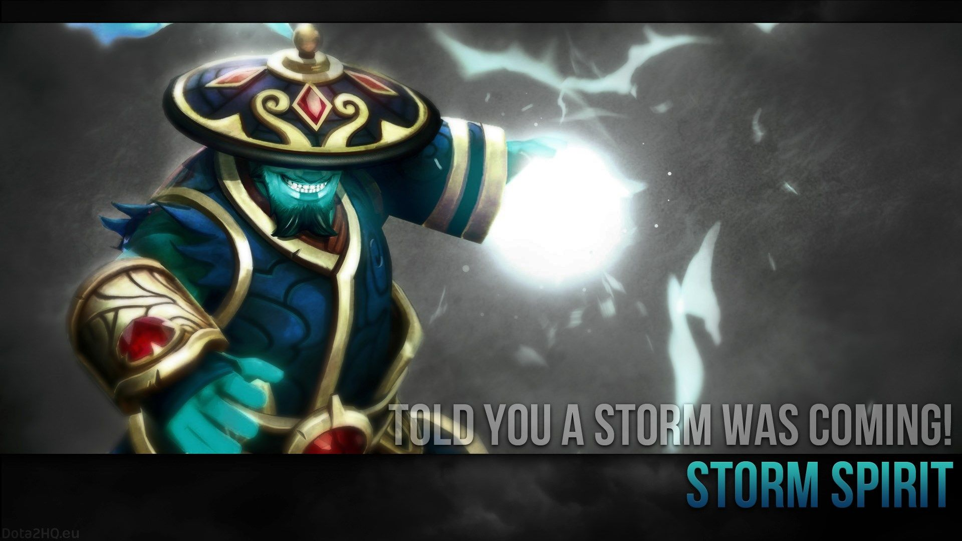 1920x1080 Storm Spirit Dota 2 Background Dota 2 Dialogues In