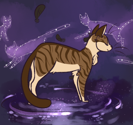 Leafpool by idepix on tumblr • thunder, wind, river