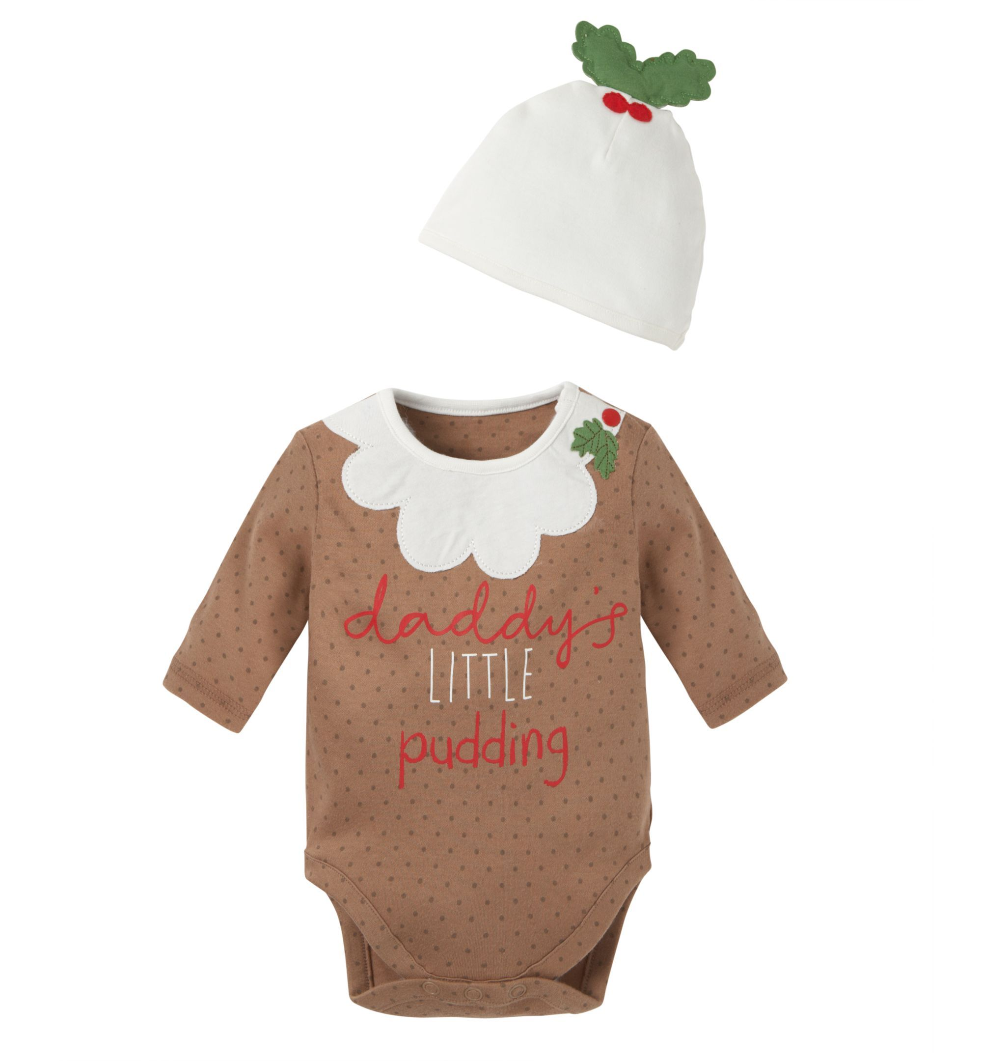 816df0281 Mothercare Christmas Pudding Set