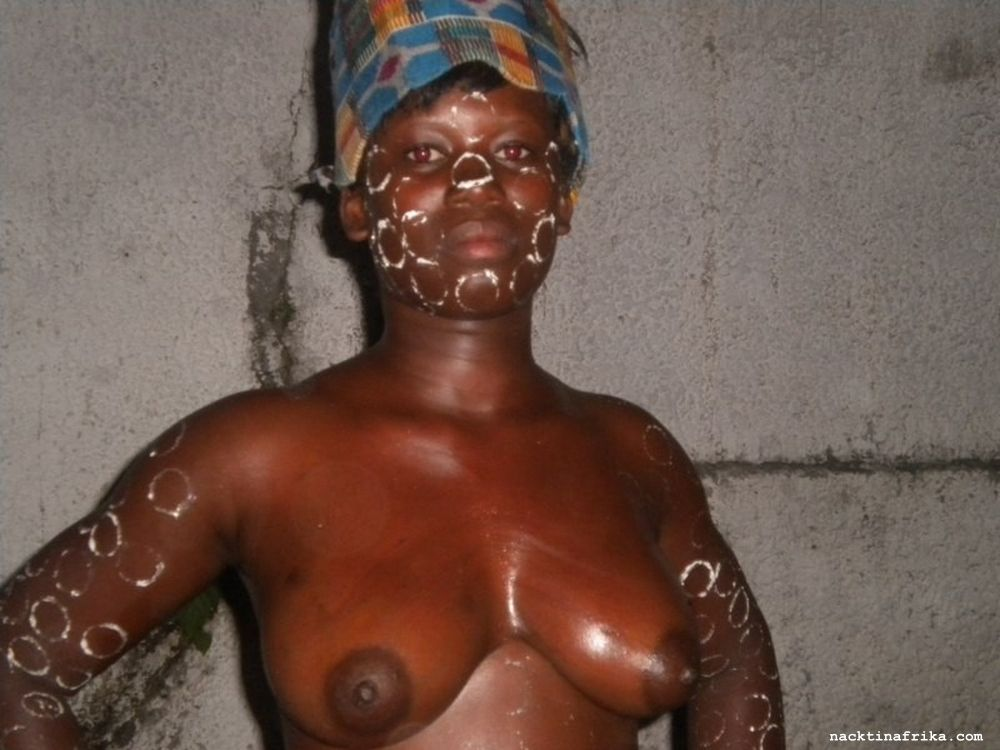 Schwarze nackte afrikanische Männer
