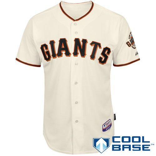 pretty nice 157d2 495fa San Francisco Giants Authentic Home Cool Base Jersey - MLB ...