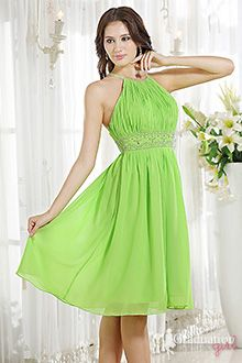 lime and pink dresses  | Lime green graduation dresses,lime green chiffon dresses for ...