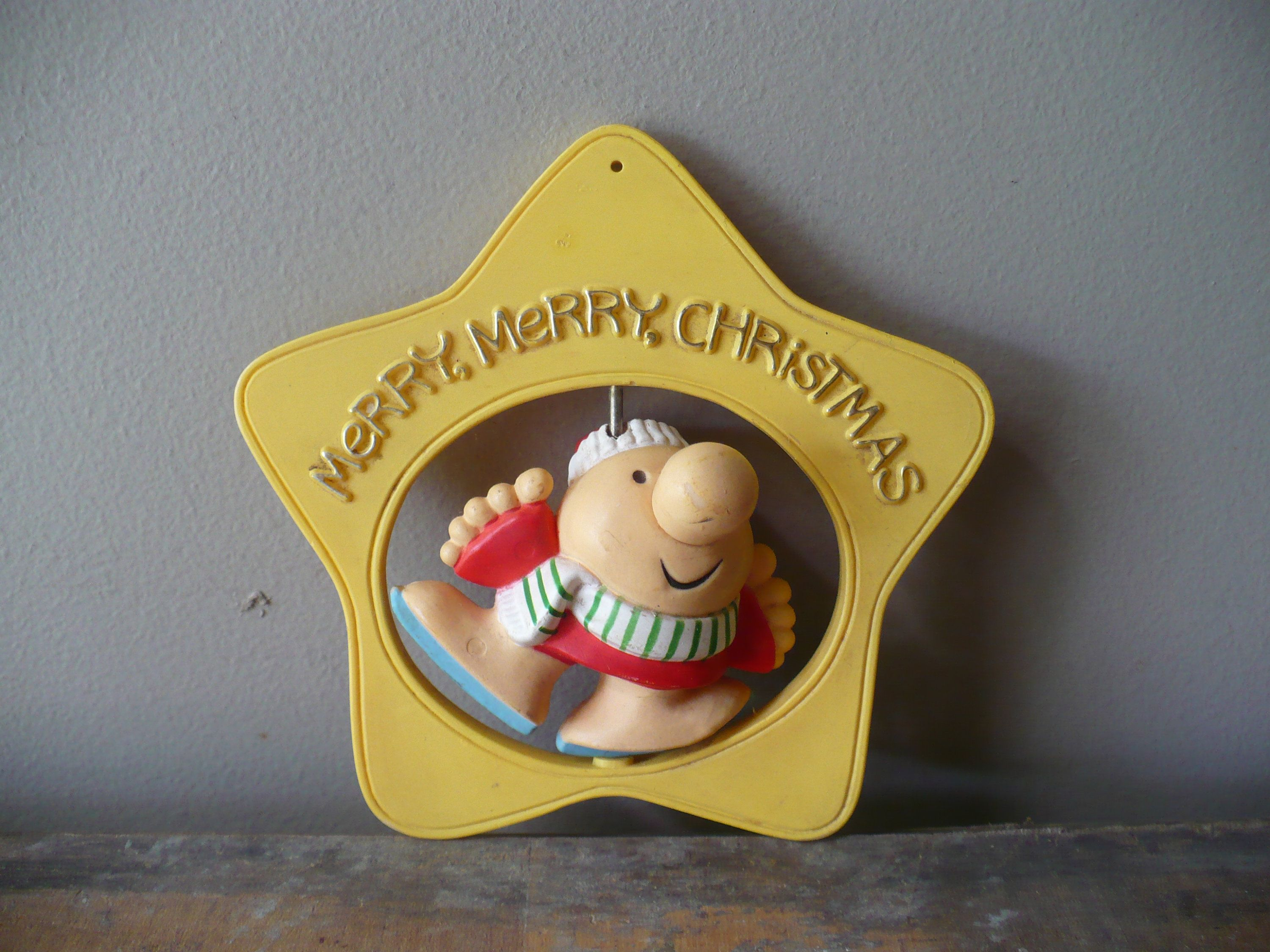 Vintage Ziggy Christmas Ornament Merry Merry Christmas Theearlybirdfinds Handmade Christmas Gifts Christmas Ornaments Christmas Decorations Ornaments