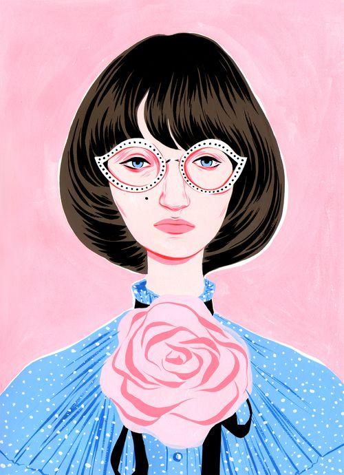Gucci Pink Blue by Bijou Karman