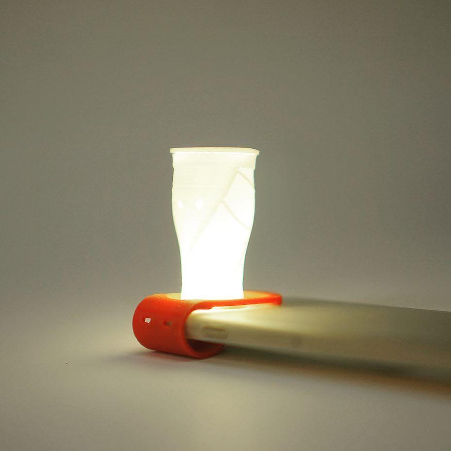 3D프린터로 만든 스마트폰 무드등 filamp #filamp #3D프린팅 #무드등 #수유등 #폰조명 #빛놀이 #예쁜조명 #조명 #moodlamp #lamp #3Dprinting #moodlight #lampshade #customized #minilamp by filamp